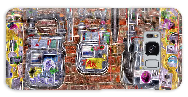 Electric Meters Galaxy Case by Spencer McDonald