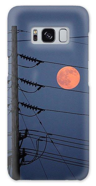 Electric Moon Galaxy Case by Richard Reeve