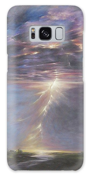 Electric Sky Galaxy Case by Dina Dargo