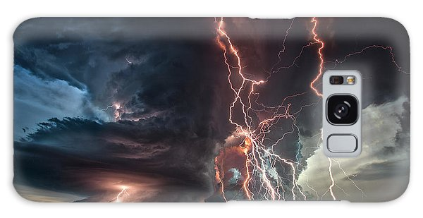 Electrical Storm Galaxy Case