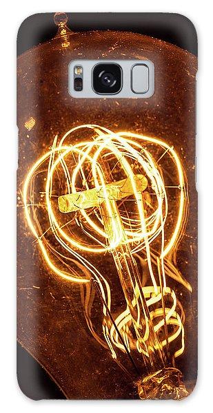 Electricity Through Tungsten Galaxy Case