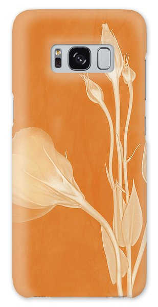 Elegance In Apricot Galaxy Case