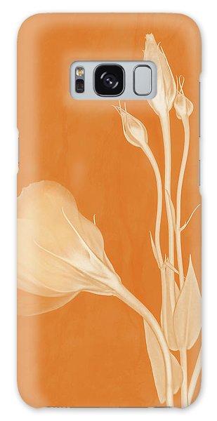 Elegance In Apricot Galaxy Case