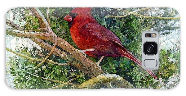 Cardinal Galaxy Case - Elegance In Red by Hailey E Herrera
