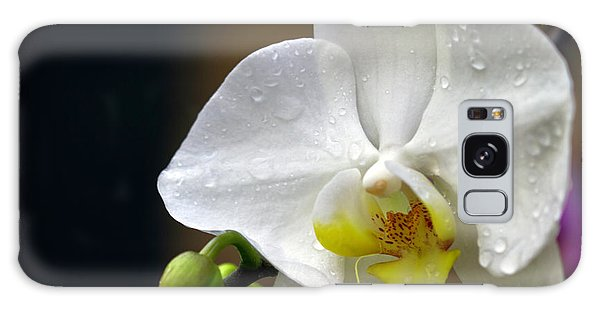 Elegance In White Galaxy Case