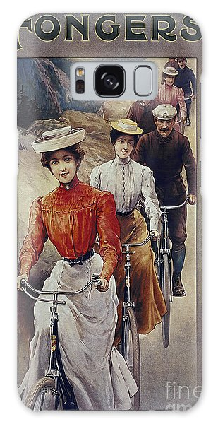 Elegant Fongers Vintage Stylish Cycle Poster Galaxy Case