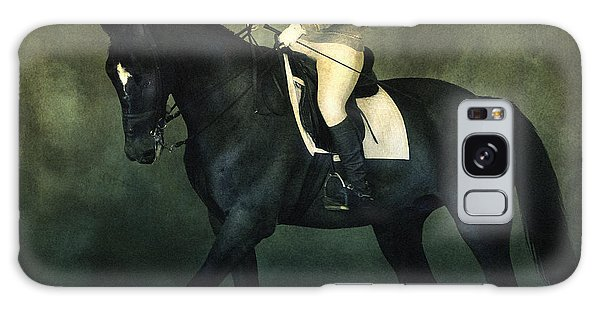 Elegant Horse Rider Galaxy Case