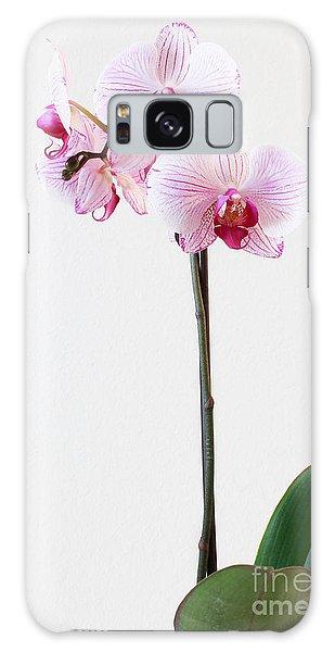 Elegant Orchid Galaxy Case