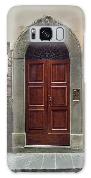 Elegant Tuscan Door Galaxy Case