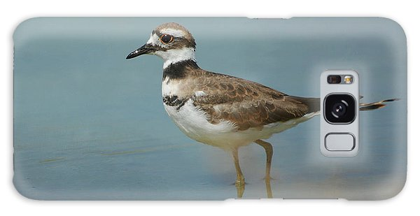 Killdeer Galaxy Case - Elegant Wader by Fraida Gutovich