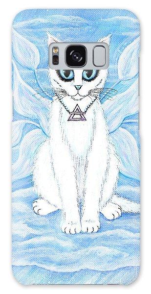 Elemental Air Fairy Cat Galaxy Case