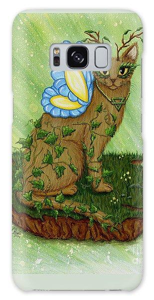 Elemental Earth Fairy Cat Galaxy Case