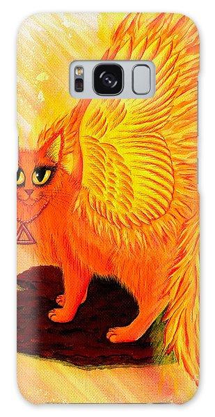 Elemental Fire Fairy Cat Galaxy Case