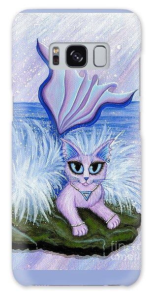 Elemental Water Mermaid Cat Galaxy Case