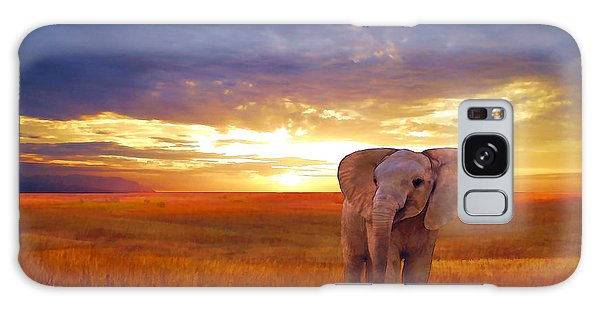 Elephant Baby Galaxy Case