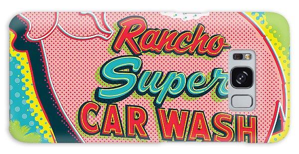 Americana Galaxy Case - Elephant Car Wash - Rancho Mirage - Palm Springs by Jim Zahniser