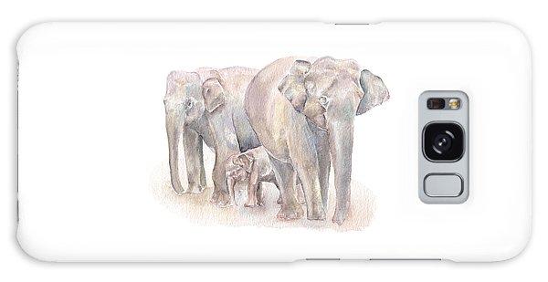 Elephant Family Galaxy Case