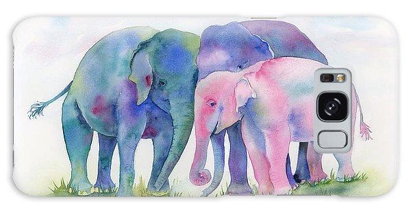 Elephant Hug Galaxy Case