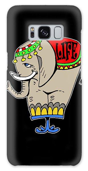 Elephant Life  Galaxy Case