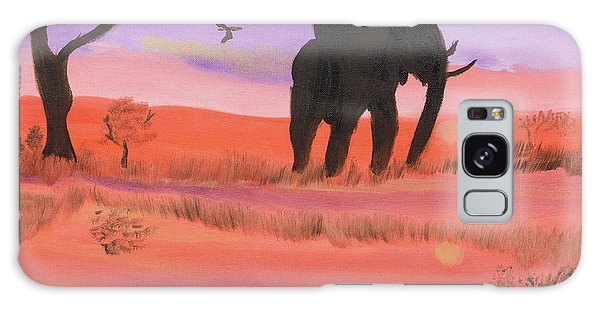Elephant Spotlight Galaxy Case