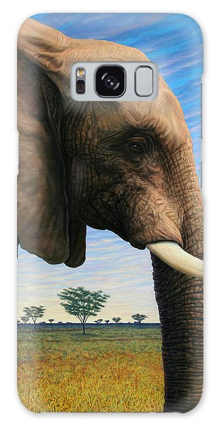 Elephant On Safari Galaxy Case