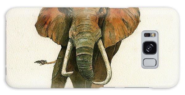 Elephant Painting           Galaxy Case by Juan  Bosco