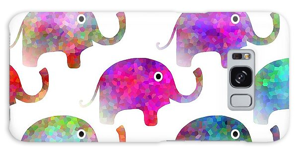 Elephant Parade Galaxy Case by Kathleen Sartoris