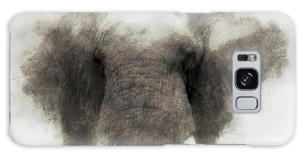 Elephant Portrait Galaxy Case