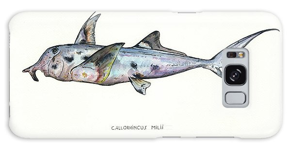 Hammerhead Shark Galaxy Case - Elephant Shark by Juan Bosco