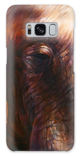Elephant Empathy Galaxy Case by Vali Irina Ciobanu