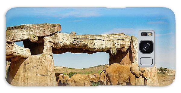 Elephants Galaxy Case