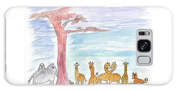 Elephoot By Baobab Tree Galaxy Case