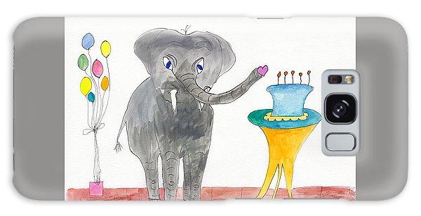 Elephoot's Birthday Greeting Galaxy Case