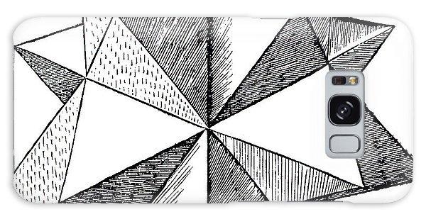 Minimal Galaxy Case - Elevated Solid Icosahedron  by Leonardo da Vinci