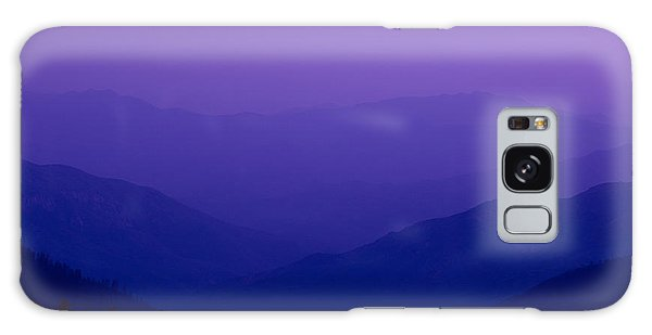 Kings Canyon Galaxy Case - Elevated View Of Valley With Mountains by Panoramic Images