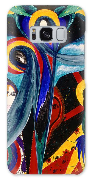 Grieving Galaxy Case by Marina Petro