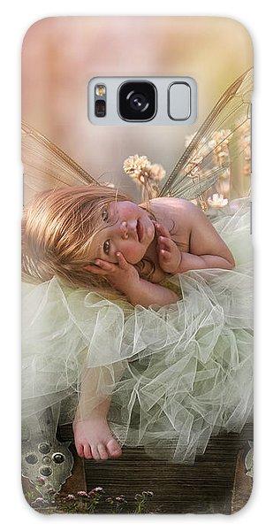 Elf Galaxy Case - Elf Baby by Cindy Grundsten