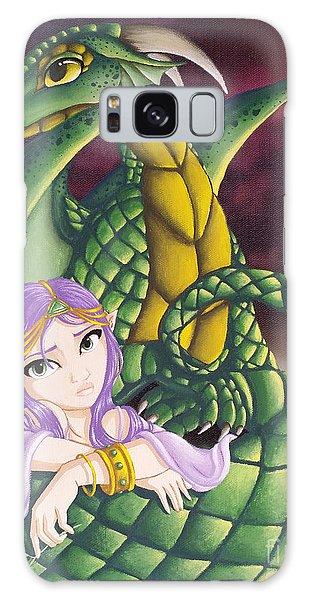 Elf Girl And Dragon Galaxy Case