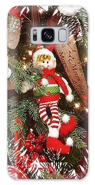 Elf In A Tree Galaxy Case
