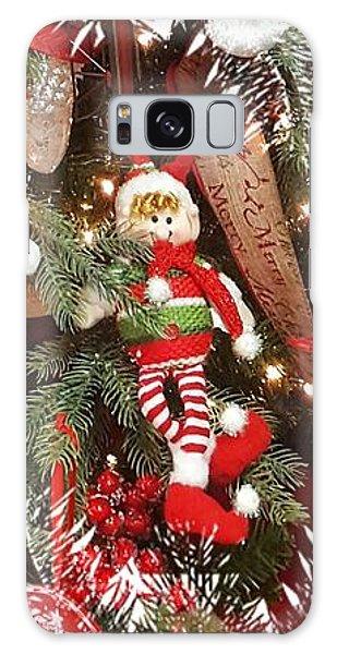Elf In A Tree Galaxy Case