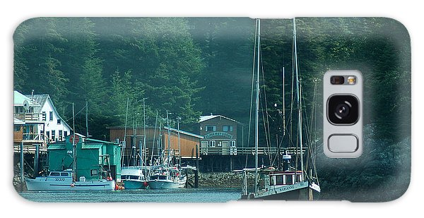 Elfin Cove Alaska Galaxy Case