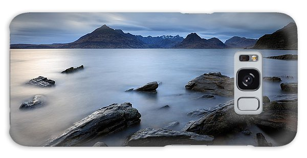 Elgol Rocky Shore Galaxy Case