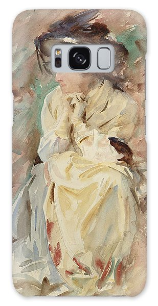 Impressionistic Galaxy Case - Eliza by John Singer Sargent