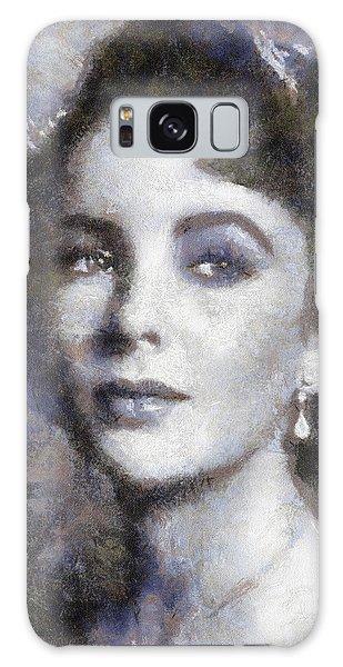 Elizabeth Taylor By Sarah Kirk Galaxy S8 Case