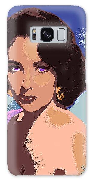 Elizabeth Taylor Galaxy Case by John Keaton