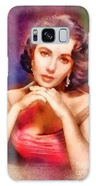 Elizabeth Taylor, Vintage Hollywood Legend Galaxy Case by Frank Falcon