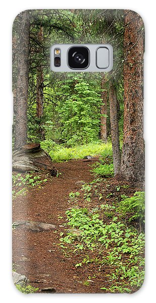 Elk Camp Trail Galaxy Case by Adam Pender