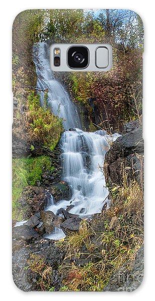 Elk Creek Waterfall Waterscape Art By Kaylyn Franks Galaxy Case