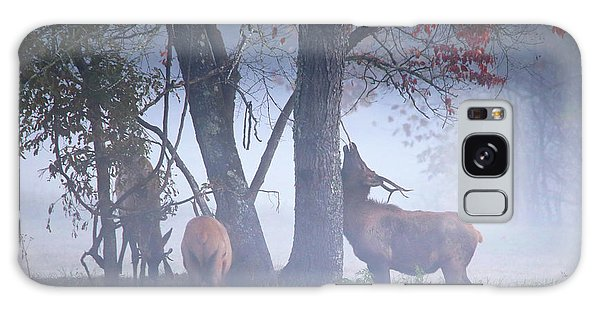 Elk Neck Scratch Galaxy Case by Lamarre Labadie