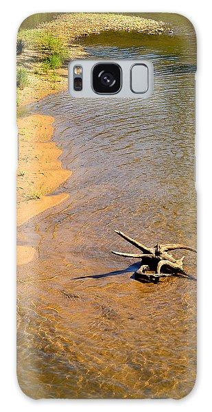 Elk River Driftwood Galaxy Case